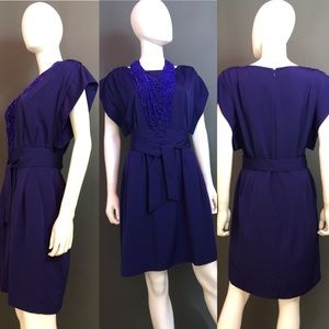 Eliza J. Kimono Sleeve Dress
